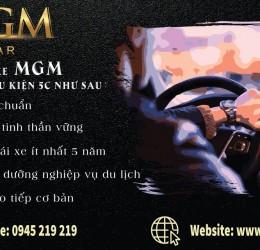 Tiêu chuẩn lái xe du lịch MGM