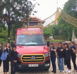 Cho thuê xe 16 chỗ từ quân Bình Tân đi Châu Đốc