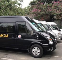 MGM - Địa chỉ cho thuê xe 16 chỗ đi chơi Tết chuyên nghiệp