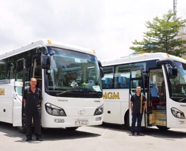MGM - Địa chỉ cho thuê xe về quê đón tết năm 2021 chất lượng