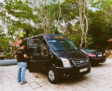 Thuê xe 16 chỗ đi Biển Long Hải