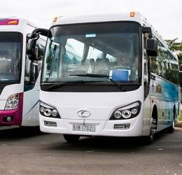 Thuê xe du lịch 45 chỗ từ sân bay Tân Sơn Nhất đi Rừng Tràm Trà Sư ở đâu uy tín và tốt nhất Tp.HCM
