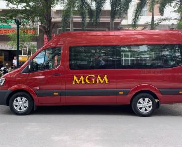 """MGM CAR đầu tư xe 16 chỗ  """"đón đầu"""" mùa du lịch"""