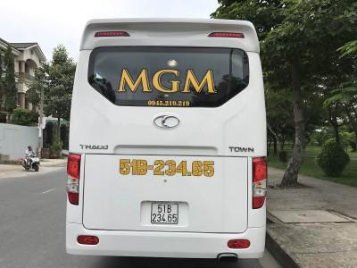 Cho thuê xe tháng Thaco Town 29 chỗ cao cấp