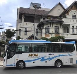 Thuê xe 29 chỗ từ TpHCM đi các Tỉnh Đồng Bằng Sông Cửu Long