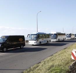 Cho thuê xe 16 chỗ dài hạn phục vụ đưa đón cán bộ công nhân viên