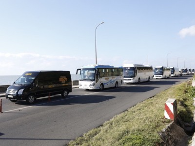 Cho thuê xe 16 chỗ dài hạn phục vụ đưa đón cán bộ công nhân...