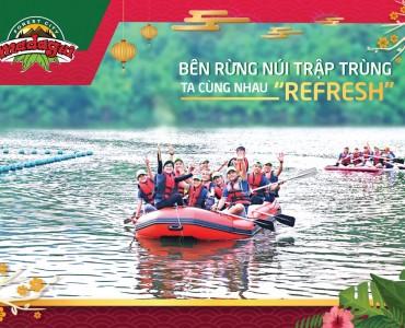 Thuê xe 30 chỗ từ Tp.HCM đi Khu du lịch Madagui