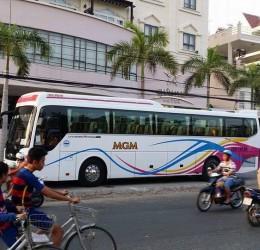Thuê xe 16 chỗ từ sân bay Tân Sơn Nhất đi biển Long Hải