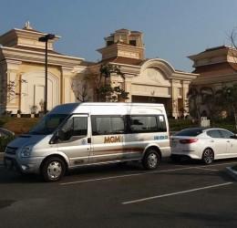 MGM - địa chỉ cho thuê xe 16 chỗ giá rẻ , chất lượng cao