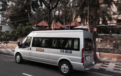 Giá cho thuê xe du lịch 16 chỗ uy tín thân thiện tại TP HCM