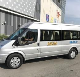 MGM chào đón những chiếc xe Ford Transit 16 chỗ ngồi - Sản xuất năm 2017