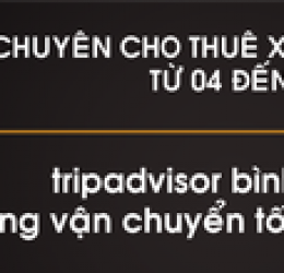 Địa chỉ cho thuê xe du lịch uy tín tại quận 6, tphcm