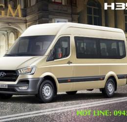 Thuê xe 16 chỗ Hyundai H350 cao cấp