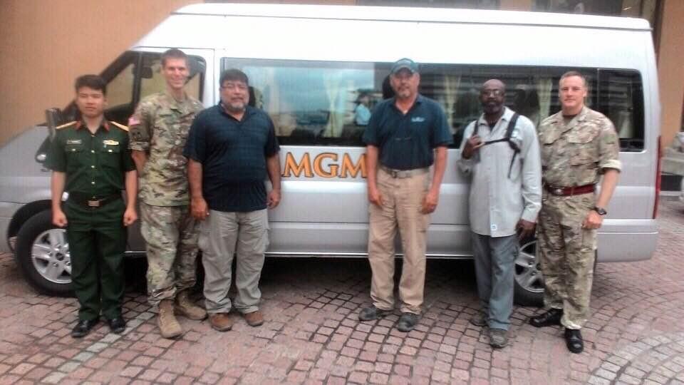 Các khách hàng của Trung tâm gìn giữ hòa bình Liên Hiệp Quốc rất hài lòng về chuyến đi