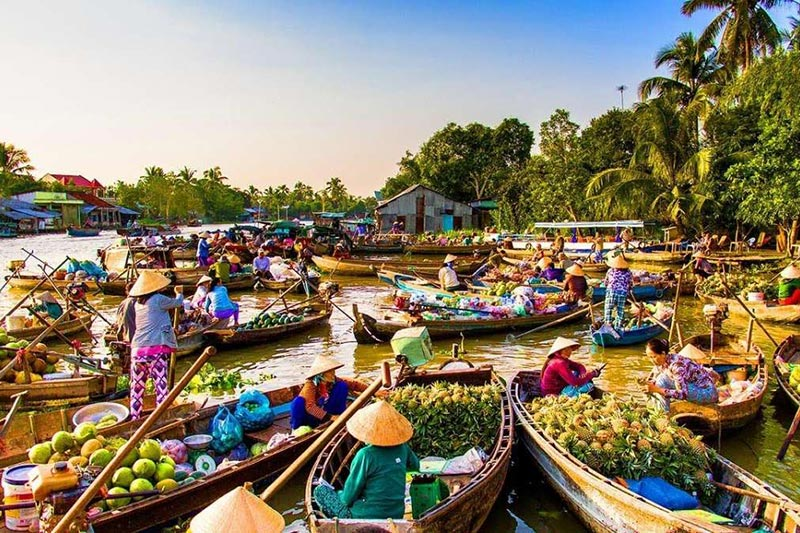 Chợ nổi – nét văn hóa đặc sắc của người dân địa phương