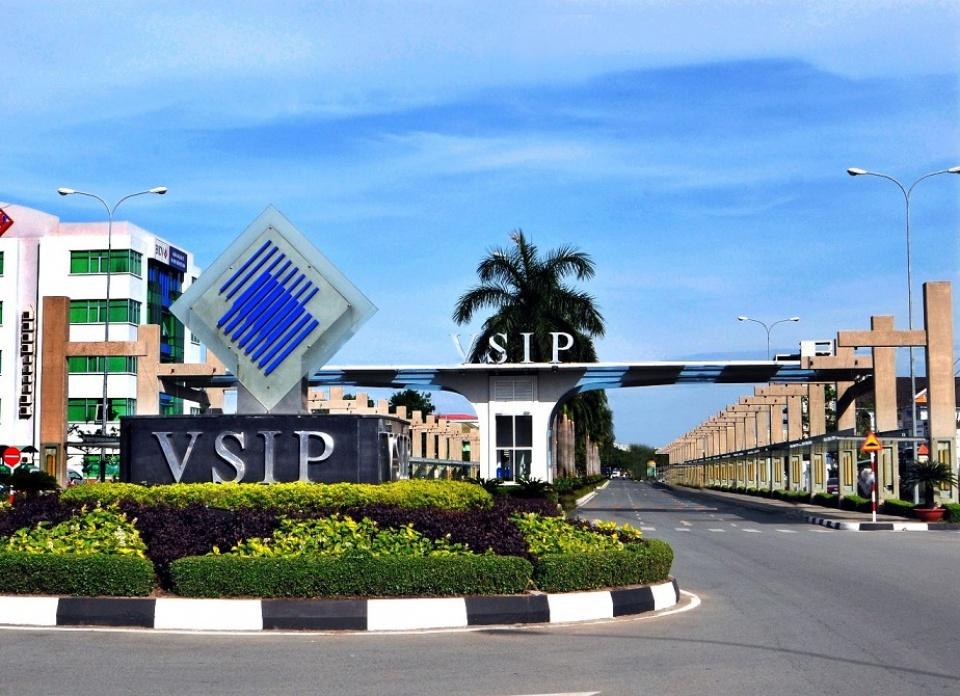 Khi công nghiệp VSIP Bình Dương