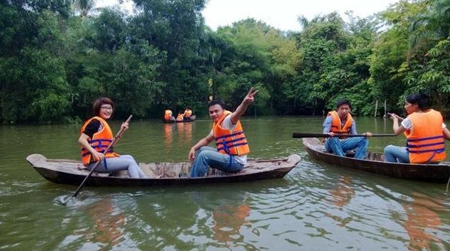 Khu du lịch nhà vườn Long Phước