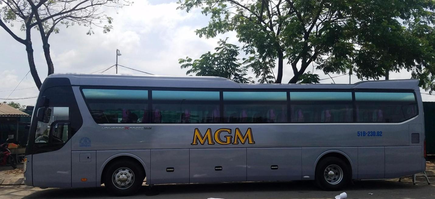 MGMcar – đơn vị  cho thuê xe 45 chỗ về quê đón Tết chất lượng