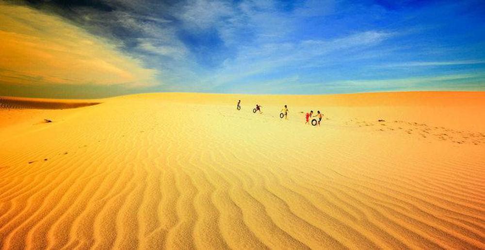 Đồi cát Nam Cương, cảnh đẹp siêu thực giữa đất trời