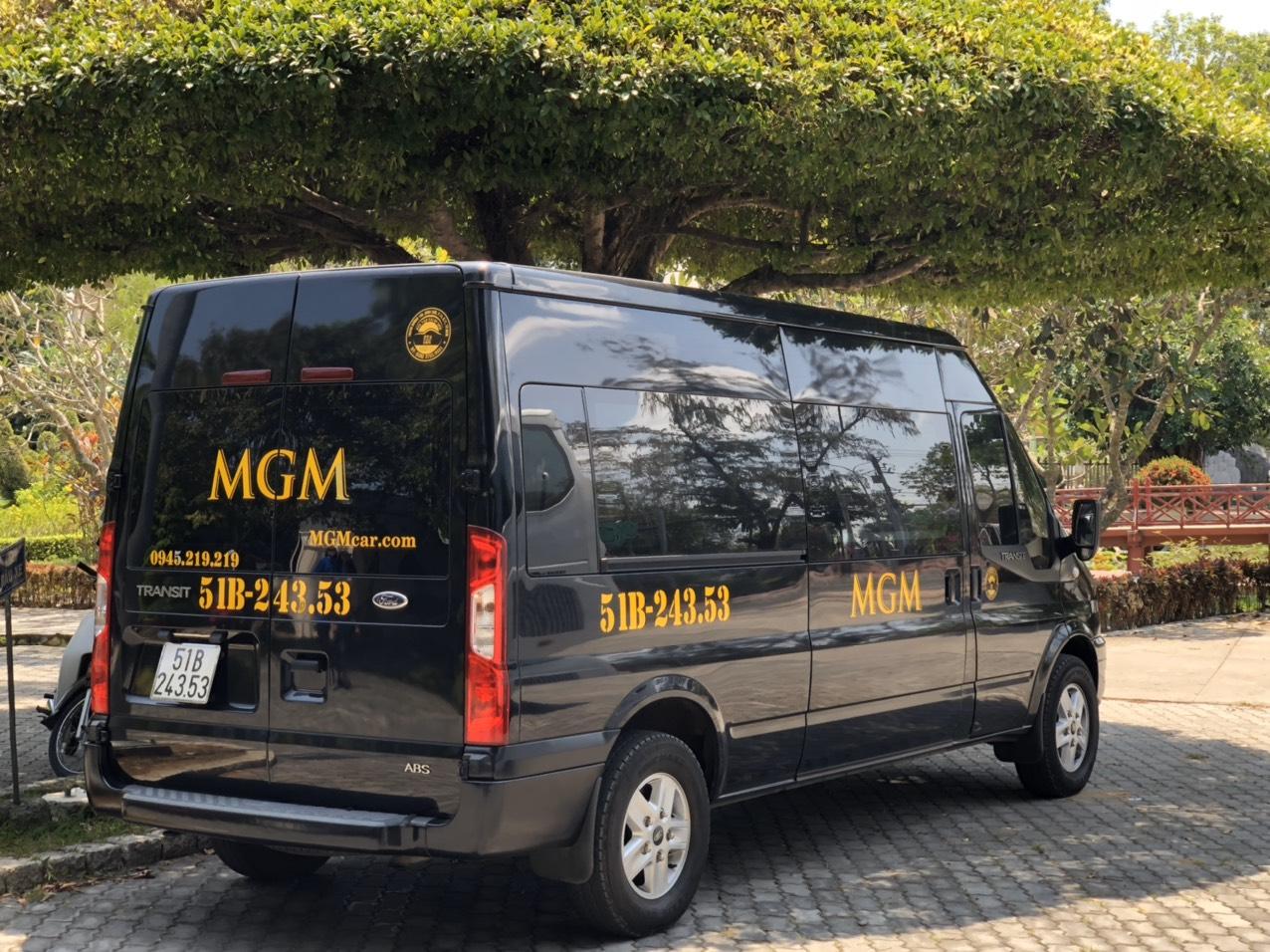 MGM cho thuê xe 16 chỗ tại quận 2 là những dòng xe cao cấp