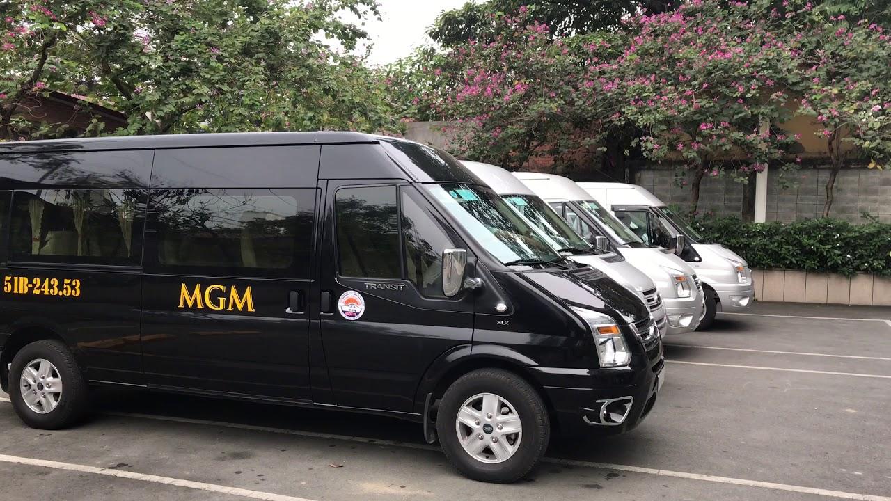 MGM- Địa chỉ cho thuê xe 16 chỗ đi chơi Tết chuyên nghiệp  là lựa chọn của nhiều gia đình