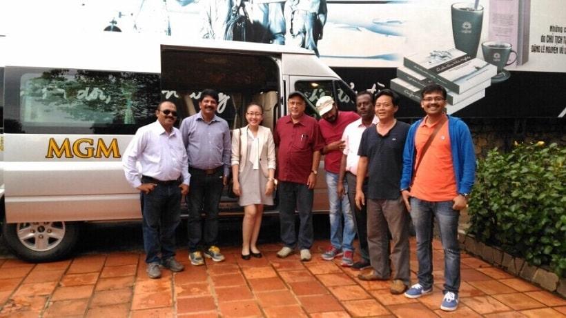 MGM hân hạnh phục vụ Đoàn các chuyên gia Cao cấp Mexico, Brazil, Mỹ, Singapore đến Việt Nam thăm và Nghiên cứu đầu tư xúc tiến Phát triển Cafe Việt Nam. Ngày 20/09/2016