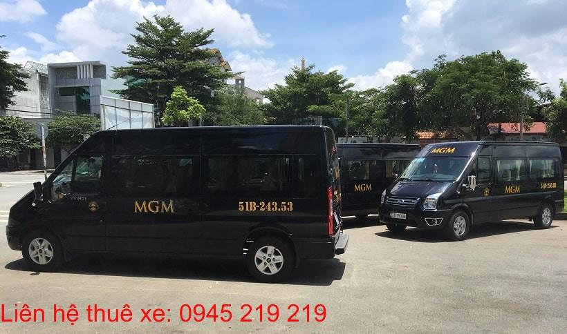 MGMcar cho thuê xe 16 chỗ cao cấp(Hình 1)