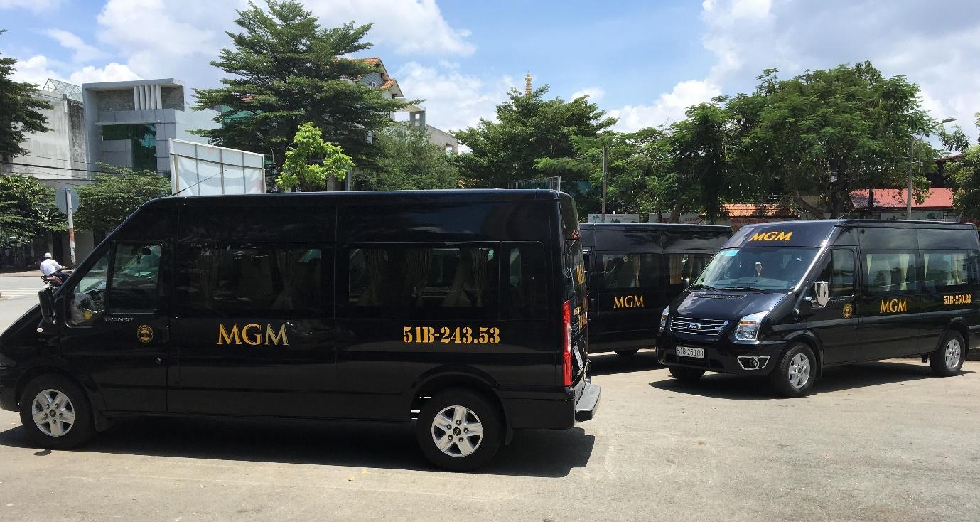 Một số xe 16 chỗ của MGM