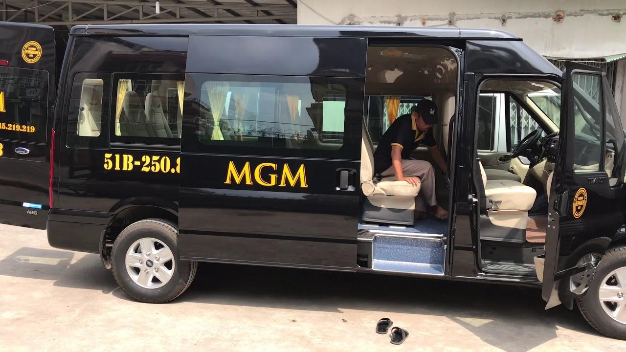 Xe của MGM được vệ sinh trước khi đón khách
