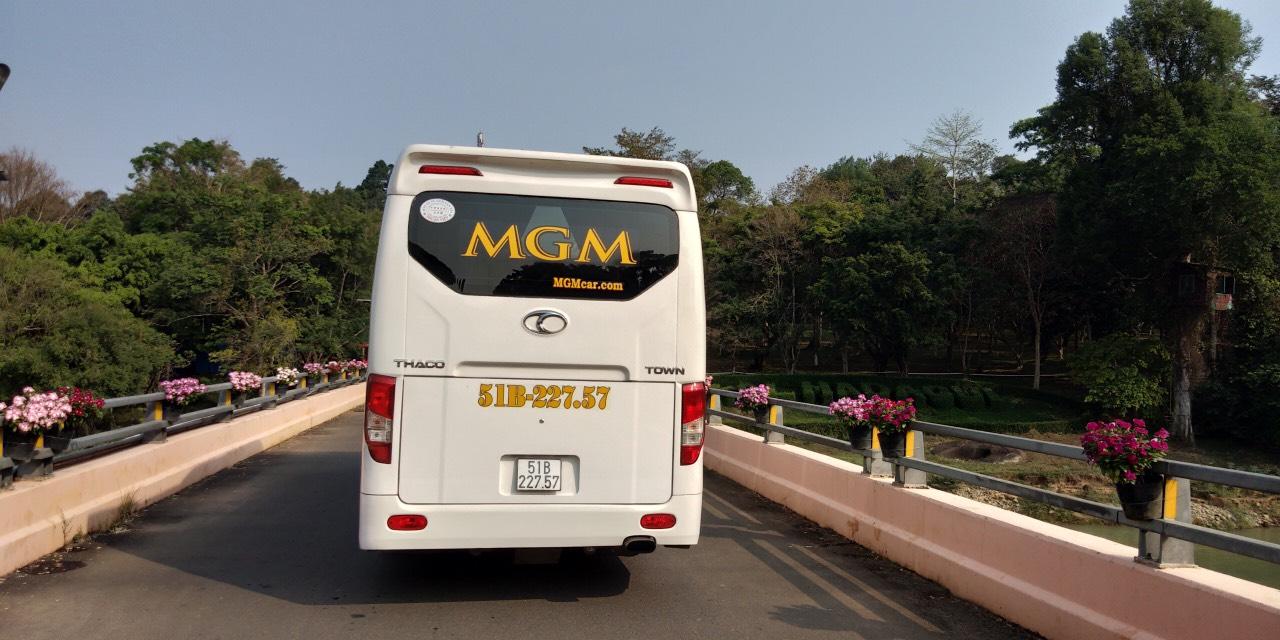 Xe MGM đồng hành cùng quý khách trên mọi nẻo đường