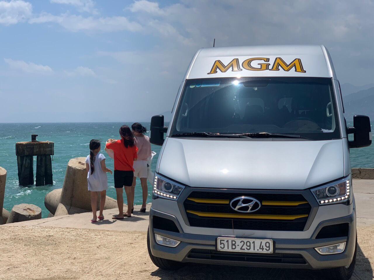 Xe MGM phục vụ chu đáo cho gia đình mình khi đi du lịch