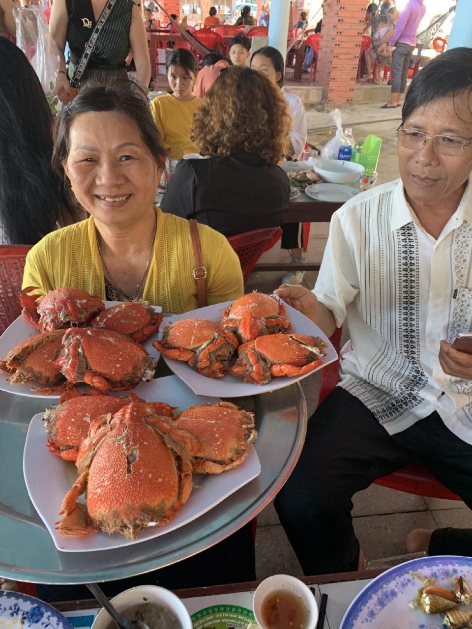 Cua Huỳnh Đế một đặc sản nổi tiếng tại Qui Nhơn